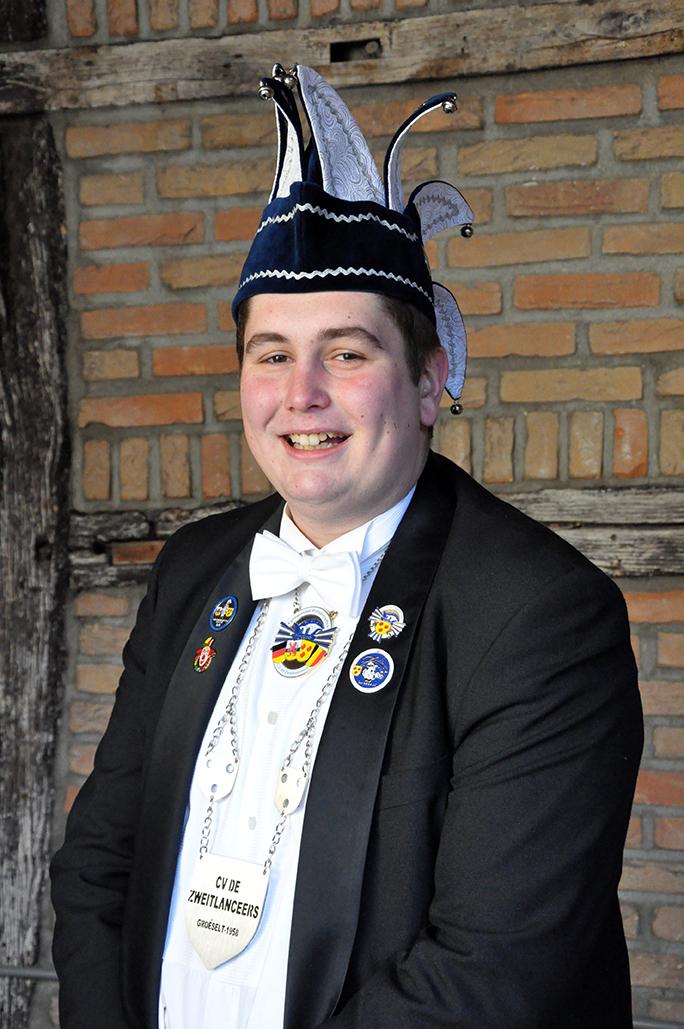 Mitchell Mommers - Vrijwilligers CV de Zweitlanceers