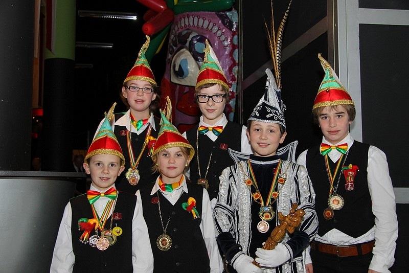 Jeugdcarnavalsverenigingen op het Euregionaal Prinsentreffen